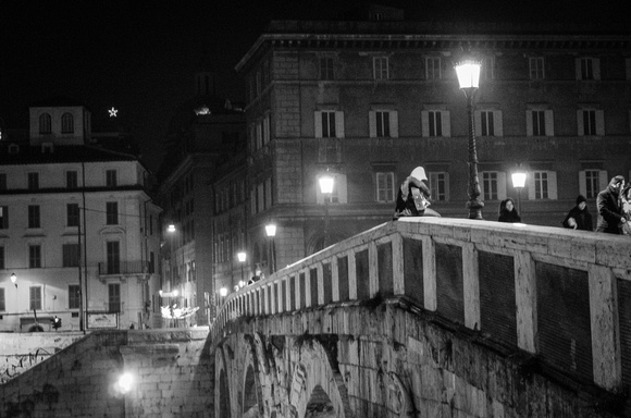 Music on the Ponte Sisto