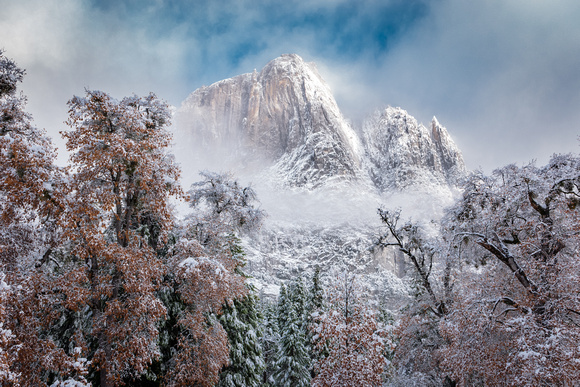 When Fall and Winter Meet in Yosemite