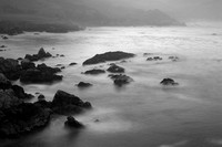Big Sur Morning B&W